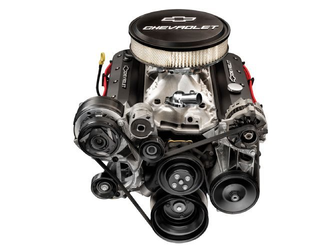 Chevy Performance Releases a ZZ6 Crate Engine to Celebrate the 60th Anniversary of the Small-Block.