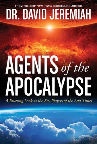 """[""""In <i>Agents of the Apocalypse</i>, noted prophecy expert Dr. David Jeremiah does what no prophecy expert has done before. He explores the book of Revelation through the lens of its major players--the exiled, the martyrs, the elders, the victor, the king, the judge, the 144,000, the witnesses, the false prophet, and the beast.<br><br>One by one, Dr. Jeremiah delves into their individual personalities and motives, and the role that each plays in biblical prophecy. Then he provides readers…"""