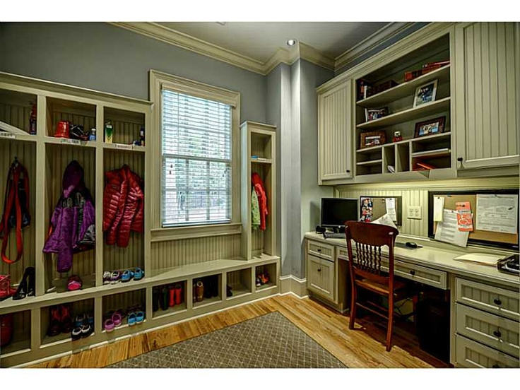 Mudroom office laundry mud utility pinterest the for Utility room office