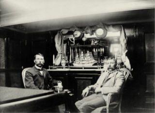 Kapteeni asui hieman mukavammin. Kuva: Rauman museo.