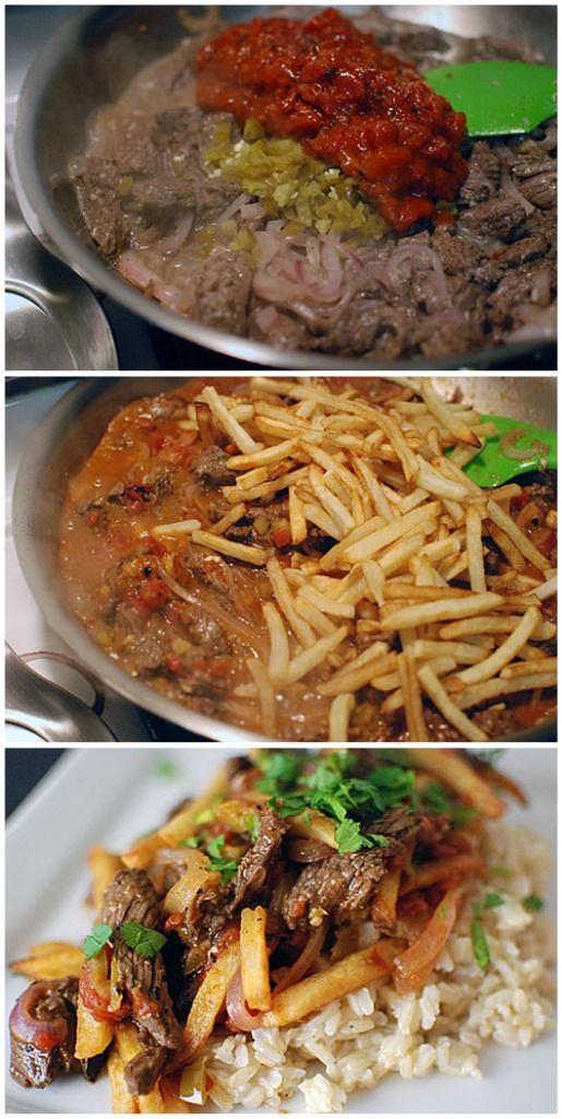 Peruvian Steak & French Fry Stir-Fry