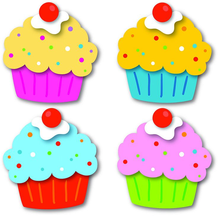 Celebrate birthdays and special days with the Cupcakes assorted mini Colorful Cut-Outs(R). Transform your classroom into the perfect place to party with this sweet multipurpose set that features 36 cu