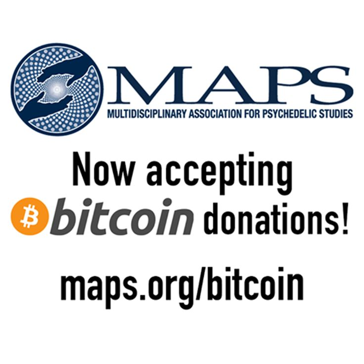 Bitcoin is at a record high price—remember you can support psychedelic science and medicine by donating bitcoins to MAPS! maps.org/bitcoin