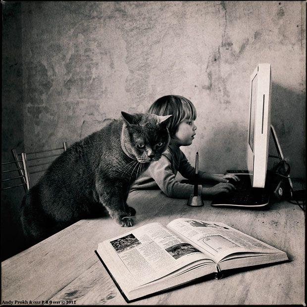 Andy Prokh (Andrey Prohorov) photographe né dans une petite bourgade de Russie en 1963. Economiste de métier il se découvre une véritable passion pour la photographie et passe ces 7 dernières années a travailler sa technique photographique. Prokh a finalement trouvé son sujet favori en créant cette série photo avec sa fille Katherine 4 ans et son ...