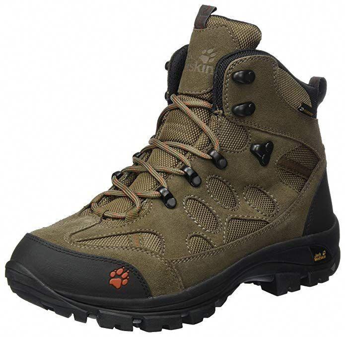 Jack Wolfskin Men's All Terrain 7 Texapore Mid M Hiking Boot