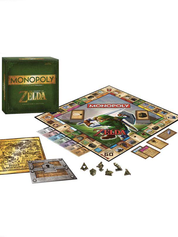 Un monopoly de geek Monopoly Zelda, 39,99€.