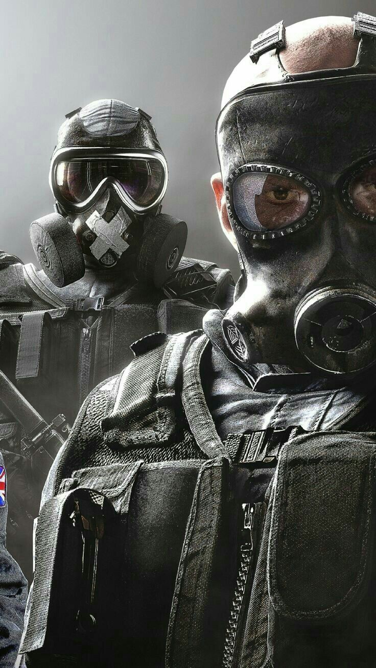 Tom Clancy S Rainbow Six Siege Sledge And Mute Papeis De