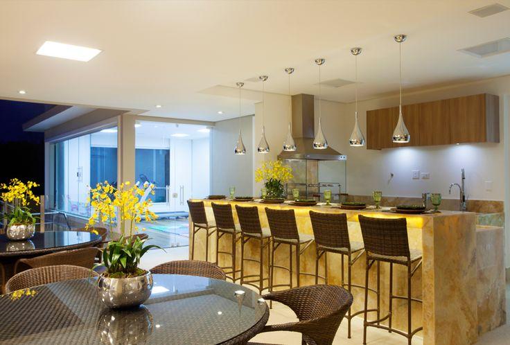 Decor Salteado - Blog de Decoração e Arquitetura : 15 Áreas de churrasco contemporâneas integradas à cozinha! Veja modelos lindos e dicas!