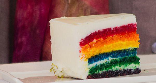 Ecco la ricetta originale della Rainbow Cake di Ernst Knam a Bake Off Italia
