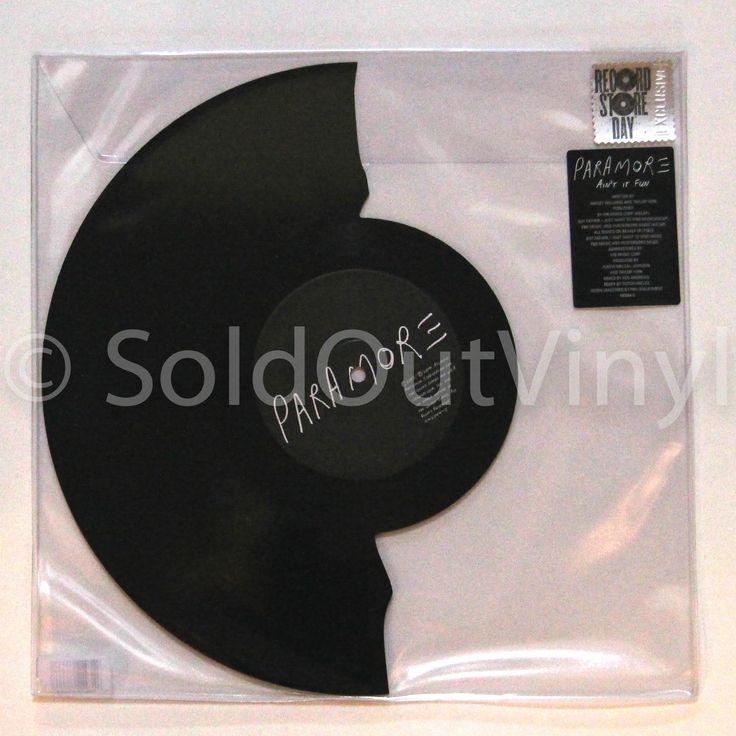 """Paramore Ain't It Fun Vinyl 7"""" Broken Record Shape RSD"""