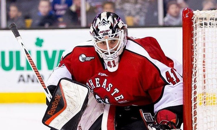 2015-16 Northeastern Huskies goaltender Ryan Ruck - Along the Boards