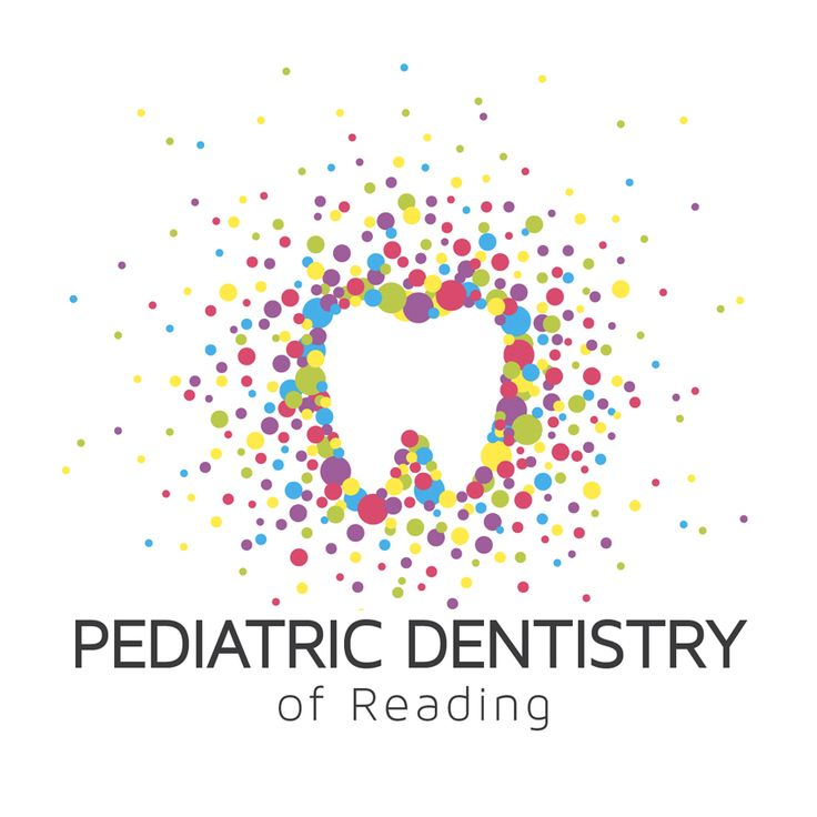 pediatric dentistry of reading logo tooth circles