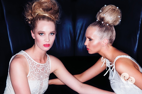 PA Dream Team  Hair Style Inspiration  Up Styles, Hair Donuts, Hair Bun, Curls  © FrontRowStudios