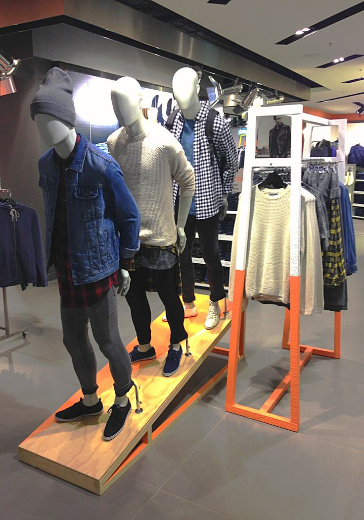 Grunge Styling at TOPMAN Chapel st Melbourne
