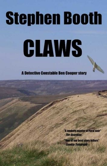 """Claws - A Detective Constable Ben Cooper story"" by Stephen Booth, $1.54  ---- CLAWS is a short novella from award-winning British crime writer Stephen Booth, featuring one of his main series characters, Detective Constable Ben Cooper, on assignment to the Derbyshire Rural Crime Squad, tackling the issues of wildlife crime."