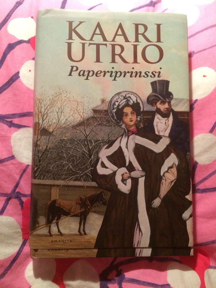 Kaari Utrion Paperiprinssi, ihana kirja