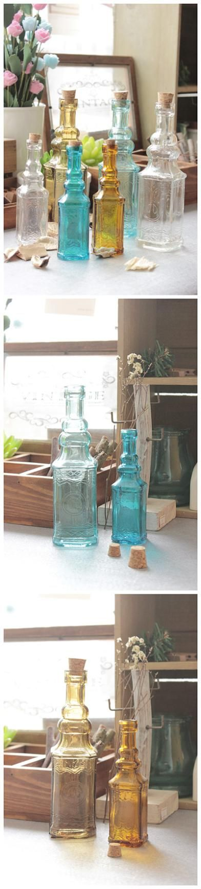 Free Shipping New 2015 Zakka Small Vintage Carved Glass Vase  Tower Vase For Home Decoration Photo Prop Vintage Glass Bottle-in Vases from Home & Garden on Aliexpress.com | Alibaba Group