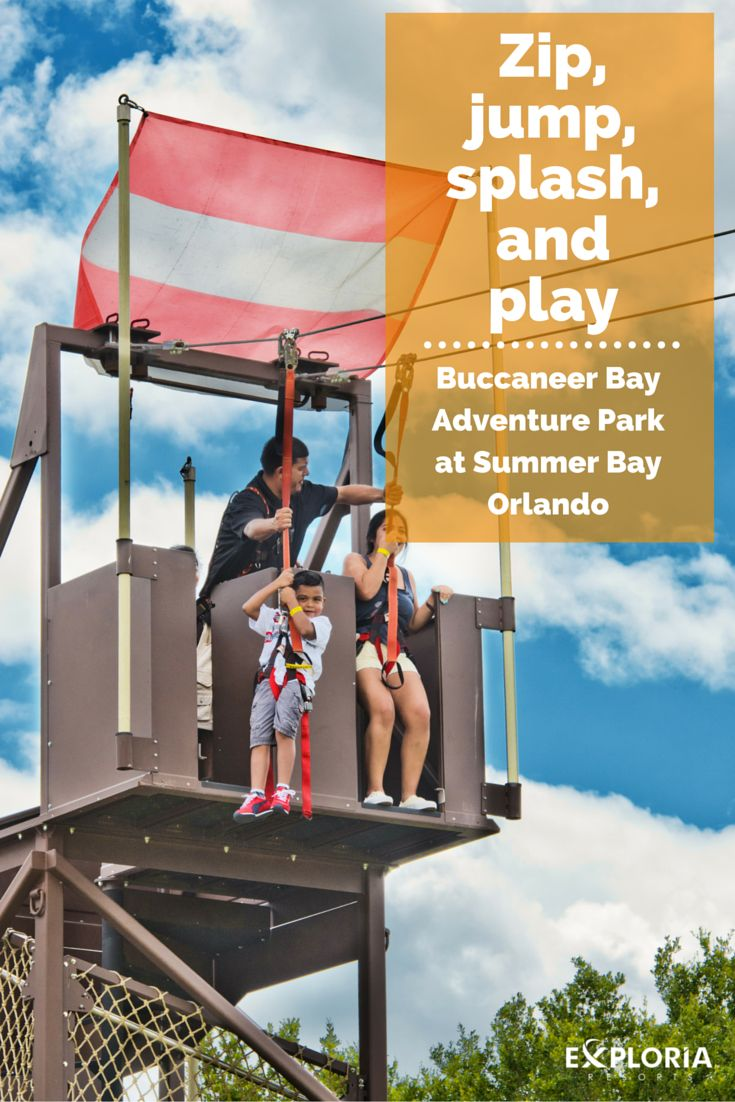 Ready for adventure? The Buccaneer Bay Adventure Park at Summer Bay Orlando is a unique resort feature for all ages to explore and enjoy. Fly through the air on the zip-line or the extreme in-line jumper. Reach new heights with the rock wall and slide down the giant slide, then get on the water with the bumper boats. Buccaneer Bay Adventure Park is just one of the special features that makes Summer Bay Orlando a resort destination like no other in Central Florida.