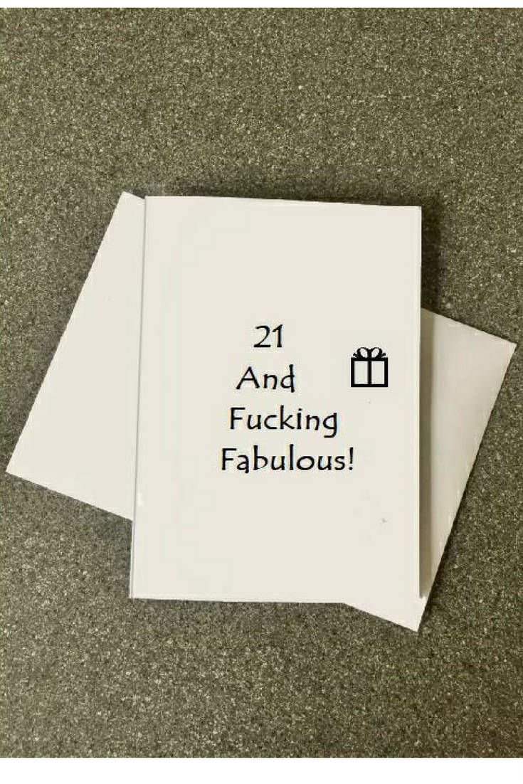21st Birthday Card21st Card Happy21st For Boyfriend Hilarious21st Sister21st Hand