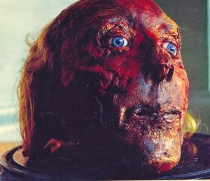 181 year old preserved head of utilitarian philosopher Jeremy Bentham