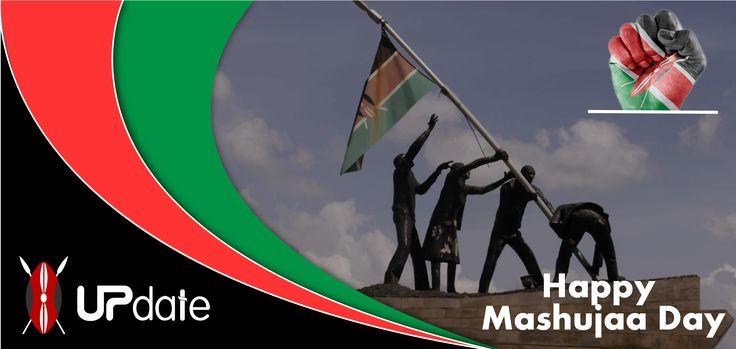 Today we celebrate those who contributed positively towards the struggle for Kenya's independence. Happy Mashujaa day. #UpdateKE