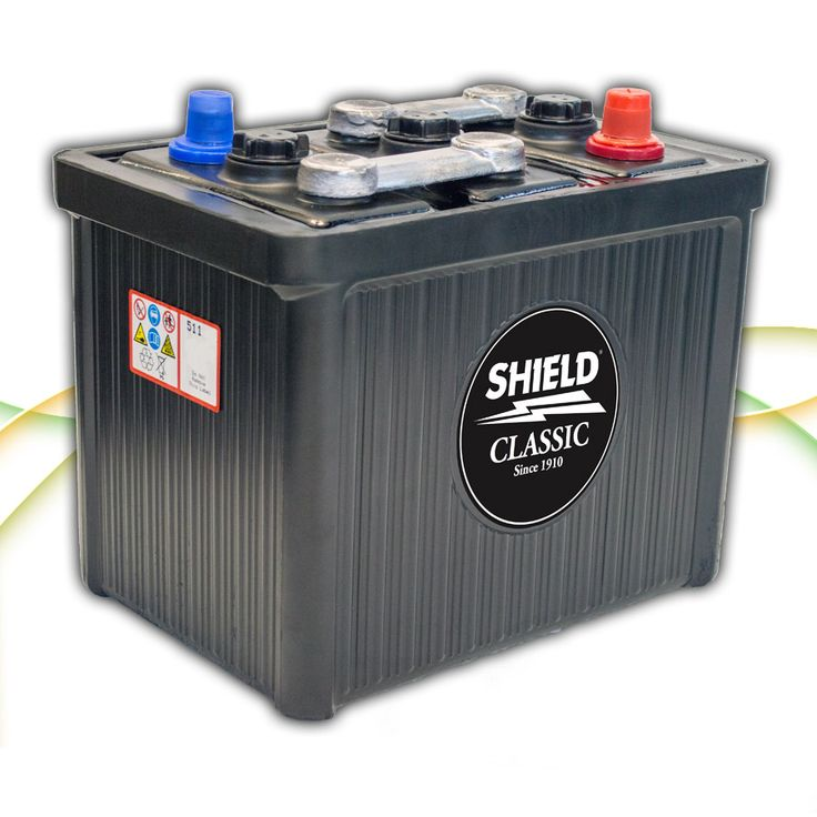Type 511 6v Classic & Vintage Car Battery http://www.batterycharged.co.uk/shop/brands/shield-batteries/6v-classic-car-batteries/shield-511-6v-classic-car-ba-1050040.html