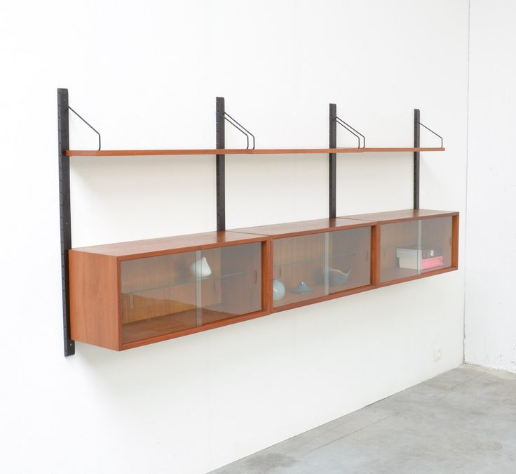Wall Unit By P. Cadovius For Royal System Denmark