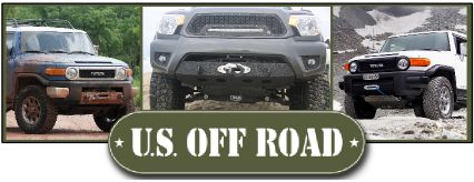 Toyota Tacoma 2012-15 Winch Bumper - U.S. Off Road