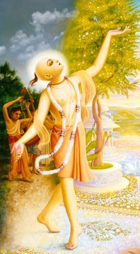 Kali yug, the age of quarrel and hypocrasy is drowning in irreligion and atheistic lifestyles. And so in this age, Krishna was predicted to decent as the Golden Avatar (incarnation), Sri Chaitanya Mahaprabhu and establish the Yuga Dharma of Harinaam Sankirtan - Congregational devotional chanting (prescribed method of liberation according to the current age). Today is Gaura-Purnima which marks the advent of Sri Chaitanya's decent to Earth, in the town of Mayapur, West Bengal - India in 1946.