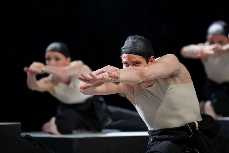 Photo gallery of Czech National Ballet's triple bill: Rain, Vertigo and Cacti - Ondrej Vinklat in Cacti