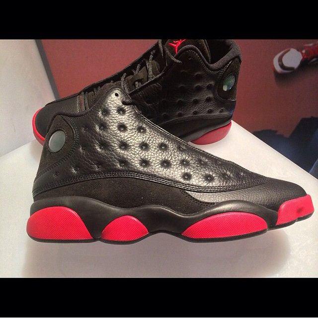 "The Air Jordan 13 ""Black/Red"" Or ""Dirty Bred"" Will Debut During Holiday 2014"