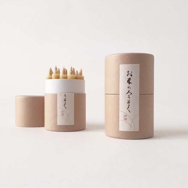 Rice Wax Candles | Japan | TWENTY ONE TONNES