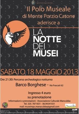 La Notte dei Musei di Monte Porzio Catone #roma #ndm13 #nottedeimusei