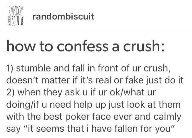 Funny dating advice tumblr