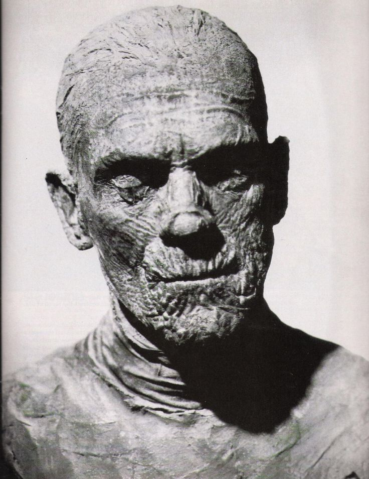 Karloff mummy no wonder I had nitemares, but wouldnt lay off this stuff either...: