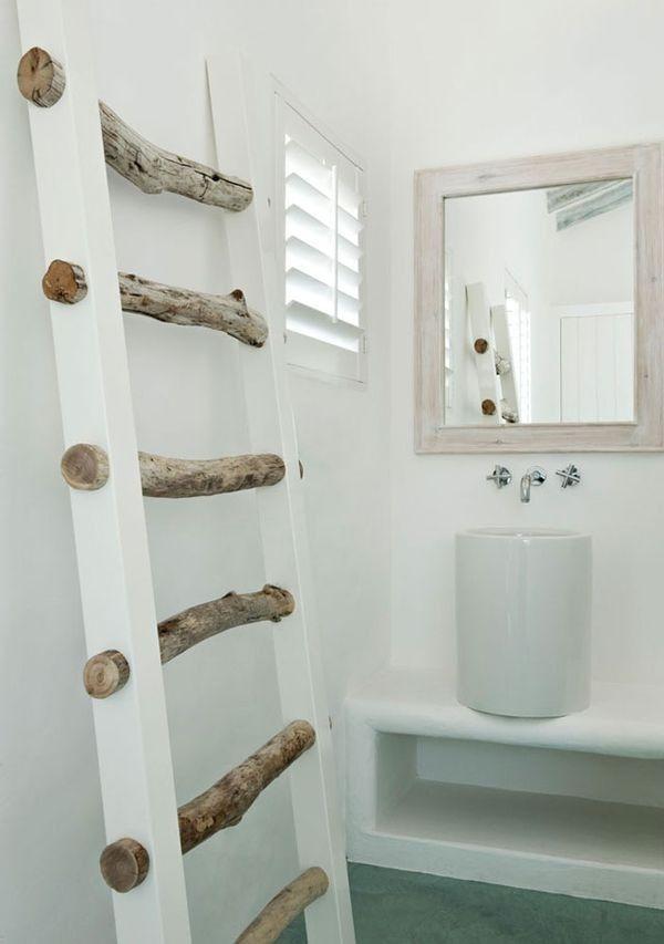 Für unser Bad auch als 'Leiterversion' mit Sisal machbar