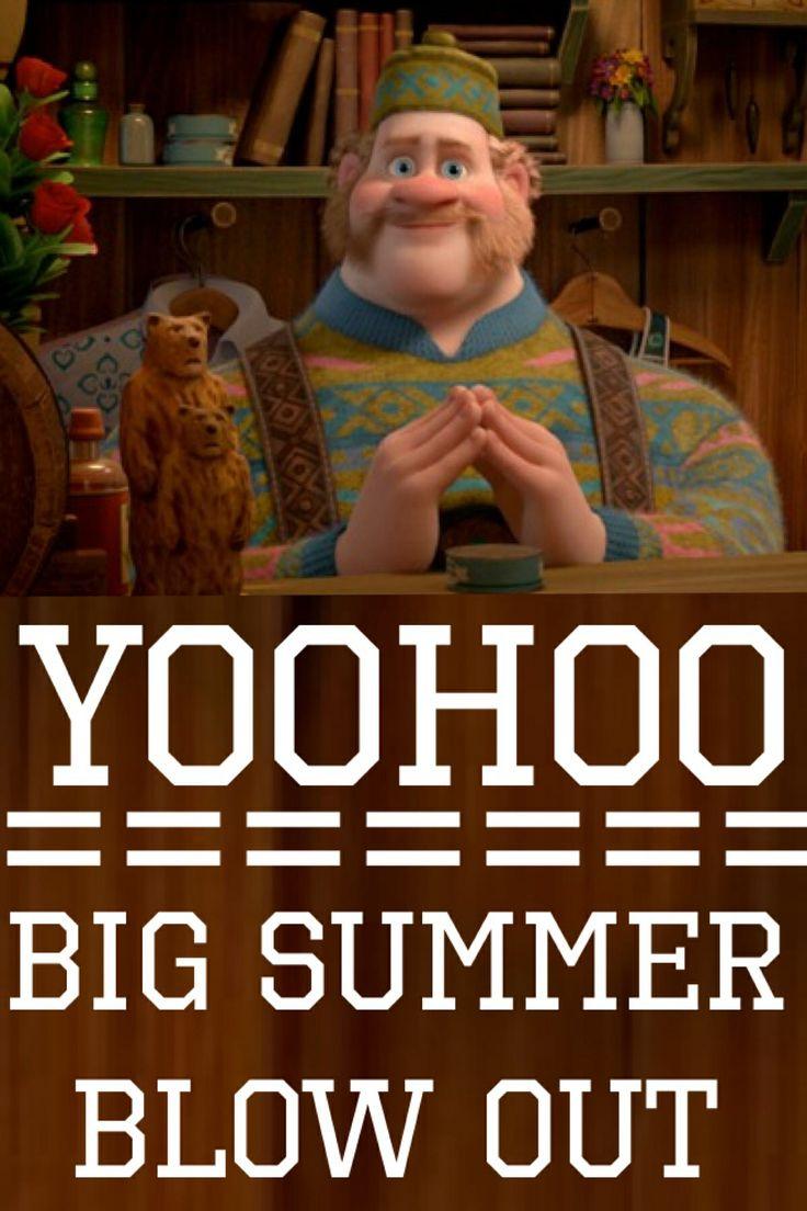 Yoohoo Big Summer Blow Out Frozen Big Summer Blowout