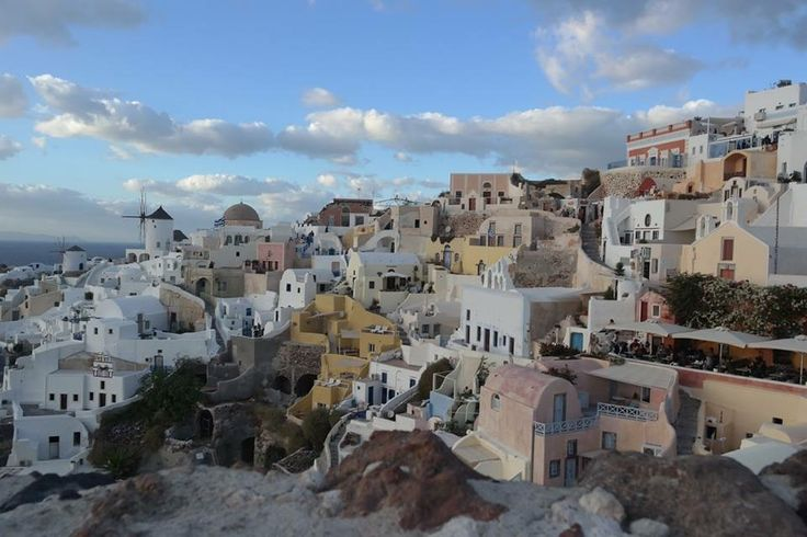 Oia Mansion at the very top of Oia village, Santorini island, Greece. - Selected by www.oiamansion in Santorini.