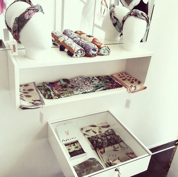 stores, boutique, display, turban, scarves, antilope, barranquilla, designlab