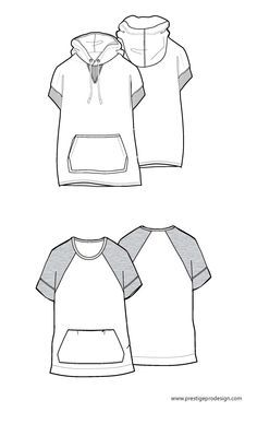 men's vest CAD technical drawing - Google Search