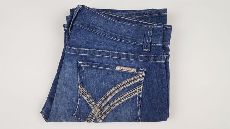 WILLIAM Rast NEW Jeans BILLY Flare MENS Denim USA Cotton BLEND Size NWT Sz 38 34 #WilliamRast #Relaxed