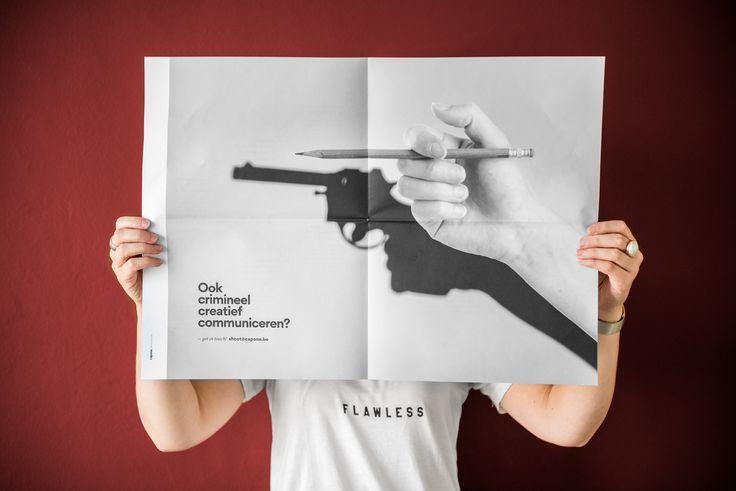 Communicatiebureau Capone uit Kortrijk staat voor crimineel creatieve communicatie. We begeleiden jou bij je communicatiestrategie en grafisch ontwerp.