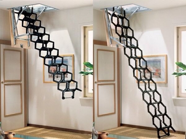 25 parasta ideaa pinterestiss escalier escamotable - Escalier escamotable mezzanine ...