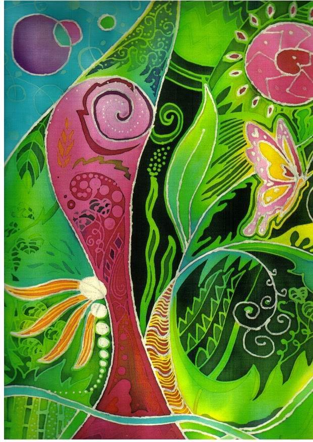 79 best Batik images on Pinterest  Batik pattern Batik art and