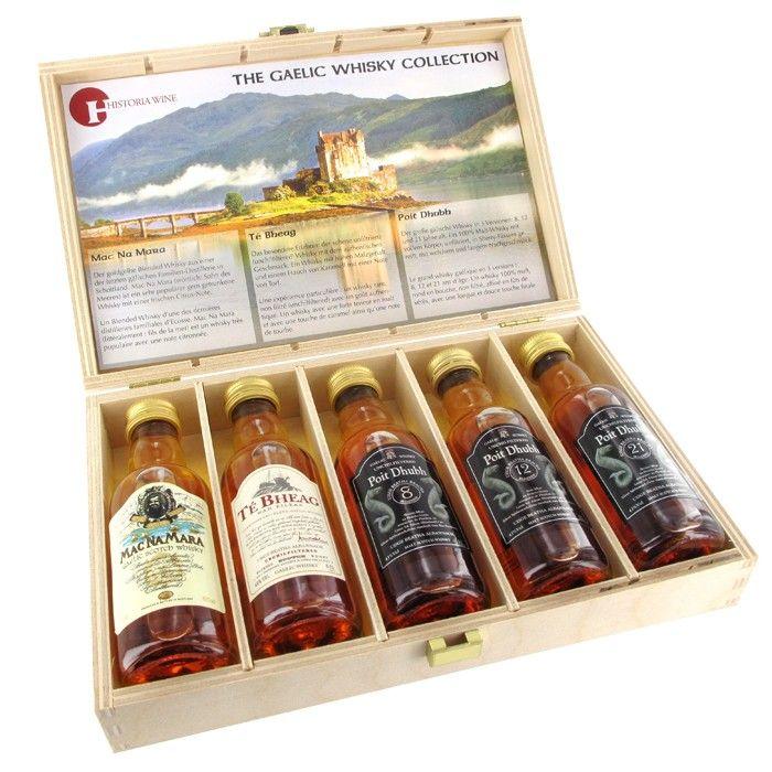Whiskey Kollektion – Die Geschenkbox für Genießer - Geschenke von Geschenkidee