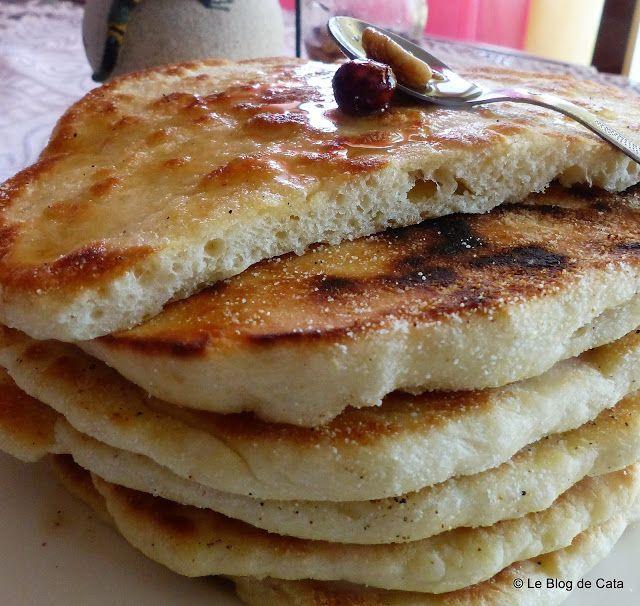 Blogul lui Catalina: Bouchiar - paine/clatita berbera