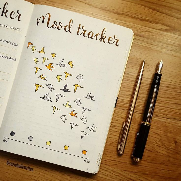 I just haven't really warmed to this mood tracker this month, I definitely preferred last month's swan! @seanpaulscott27 I need inspiration for November, we need to discuss tomorrow • #bulletjournal #Journal #Doodling