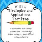 6 Worksheets that will help prepare your Class for High Stakes testing on those difficult Writing questions!      Skills addressed:  -Adding and deleti...