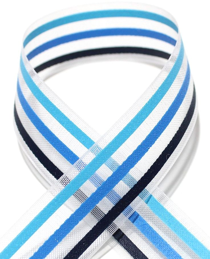 Accufashion 5/8' 10 Yds Stripe Printed Organza Ribbon >>> Check this awesome product by going to the link at the image.