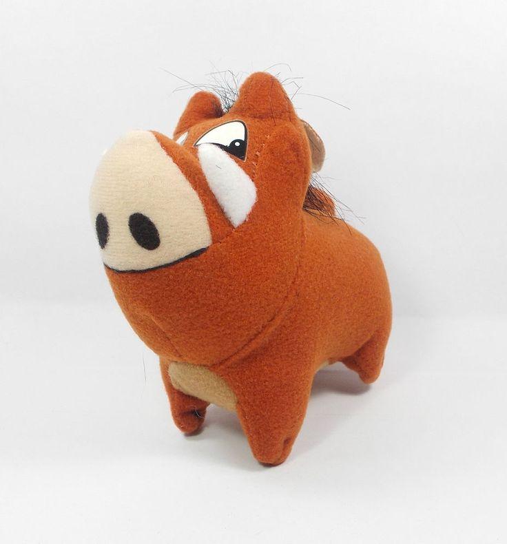 Lion King - Pumbaa - Soft Toy Figure - Disney - Cake Topper (1)